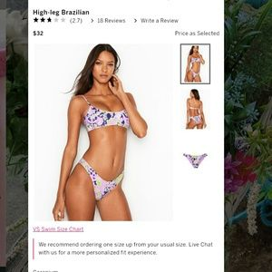 PINK Victoria's Secret Brazilian Bikini Bottoms
